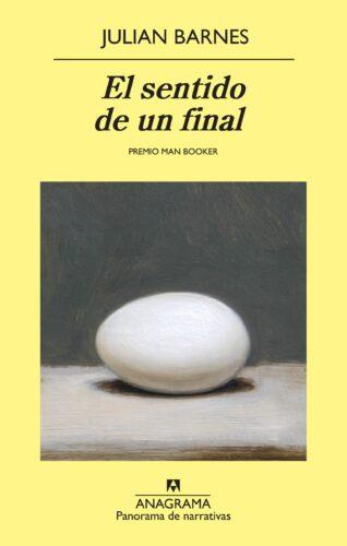 Portada del libro de Julian Barnes El sentido de un final.